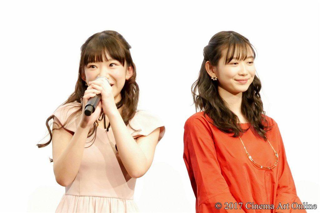 映画 「咲-Saki-」 公開記念舞台挨拶 長澤茉里奈 岡本夏美