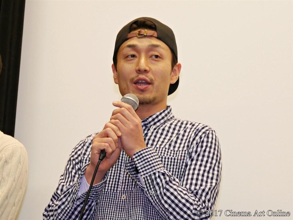 映画「SYNCHRONIZER」(シンクロナイザー) 公開初日舞台挨拶 万田祐介