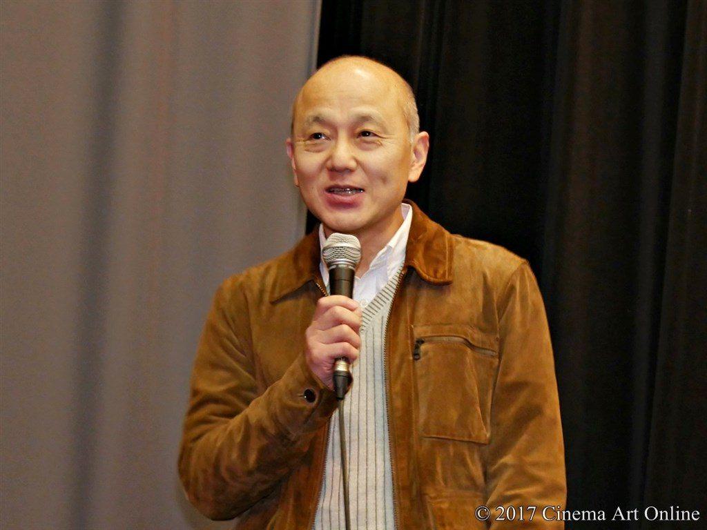 映画「SYNCHRONIZER」(シンクロナイザー) 公開初日舞台挨拶 万田邦敏監督