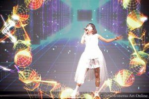 映画「劇場版 ソードアート・オンライン –オーディナル・スケール-」公開記念イベント!-TECHNOTOPIA- LiSA AR LIVE