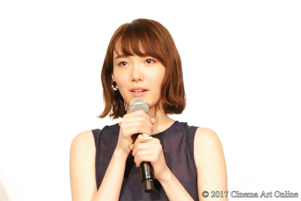【写真】映画『きょうのキラ君』公開初日舞台挨拶 飯豊まりえ