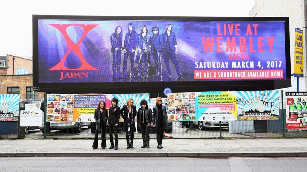 映画『WE ARE X』ウェンブリー・アリーナ公演「X JAPAN LIVE 2017 at the WEMBLEY Arena in LONDON」