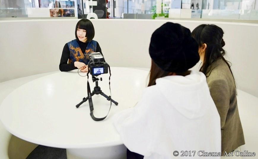 映画「咲-Saki-」東横桃子役 ゆるめるモ!あの & CTOティーンズインタビュア