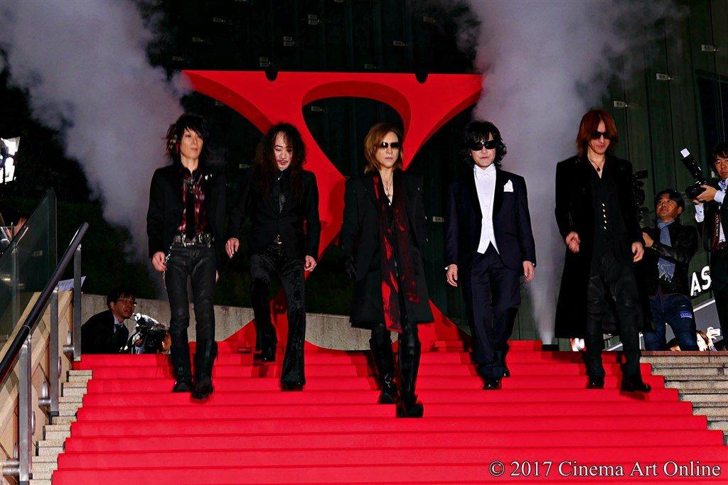 映画 「WE ARE X」完成披露ジャパンプレミア 紅カーペット X JAPAN