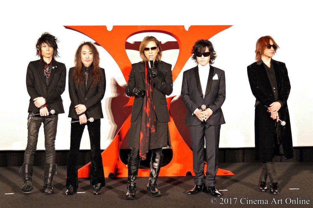 映画 「WE ARE X」完成披露ジャパンプレミア  X JAPAN  舞台挨拶