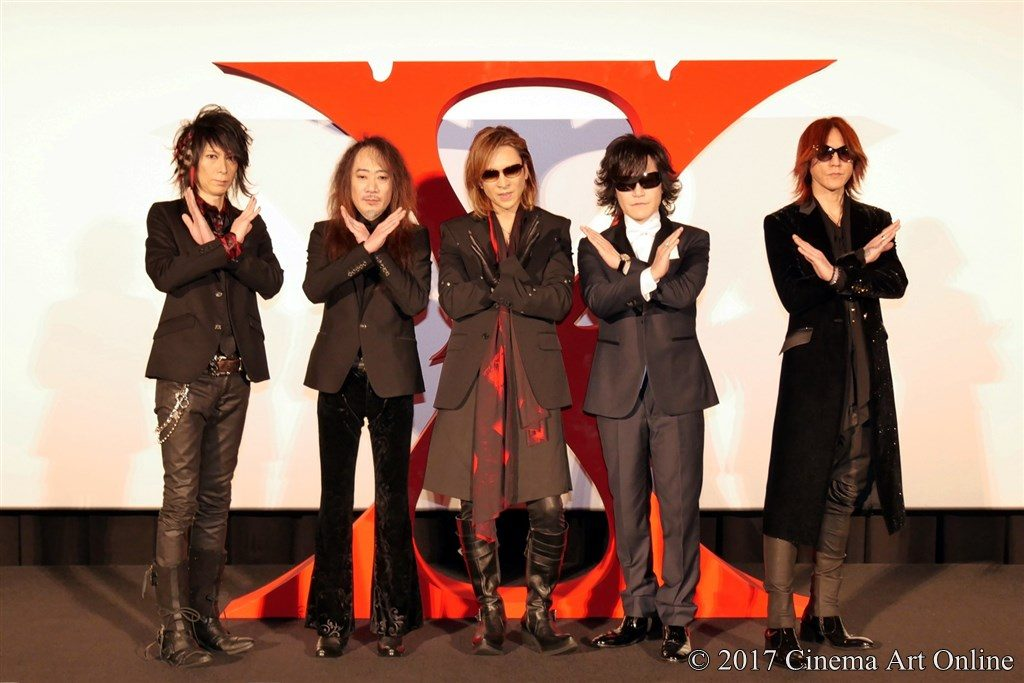 映画 「WE ARE X」完成披露ジャパンプレミア X JAPAN