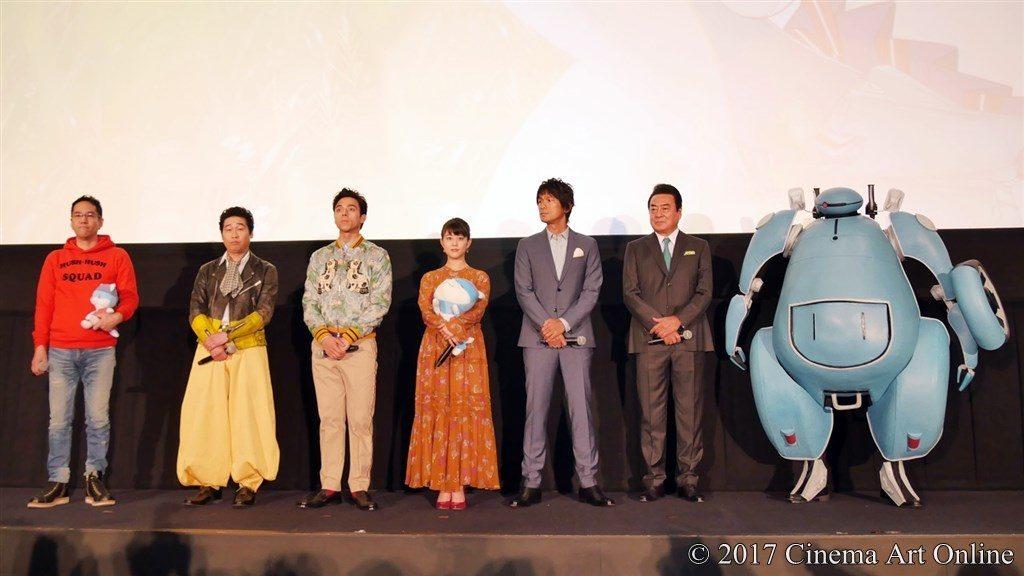 映画「ひるね姫 〜知らないワタシの物語〜」初日舞台挨拶イベント