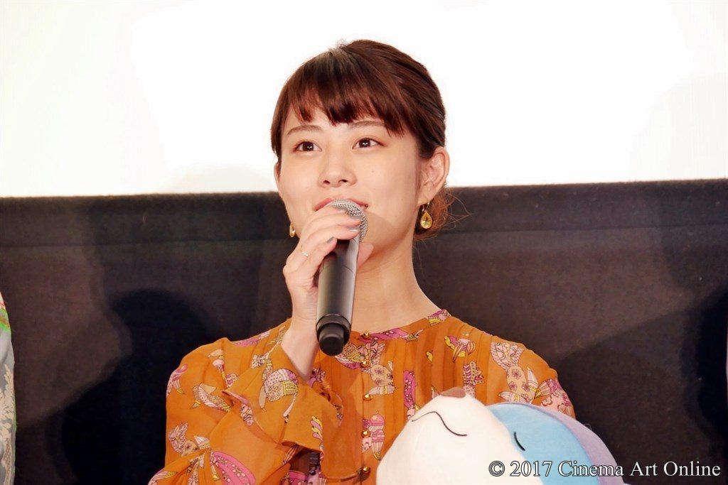 映画「ひるね姫 〜知らないワタシの物語〜」初日舞台挨拶イベント 高畑充希