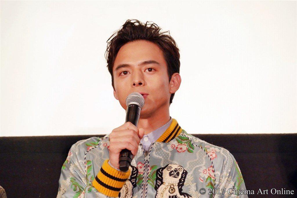 映画「ひるね姫 〜知らないワタシの物語〜」初日舞台挨拶イベント 満島真之介