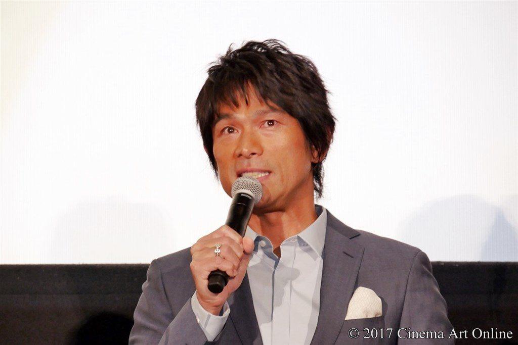 映画「ひるね姫 〜知らないワタシの物語〜」初日舞台挨拶イベント 江口洋介