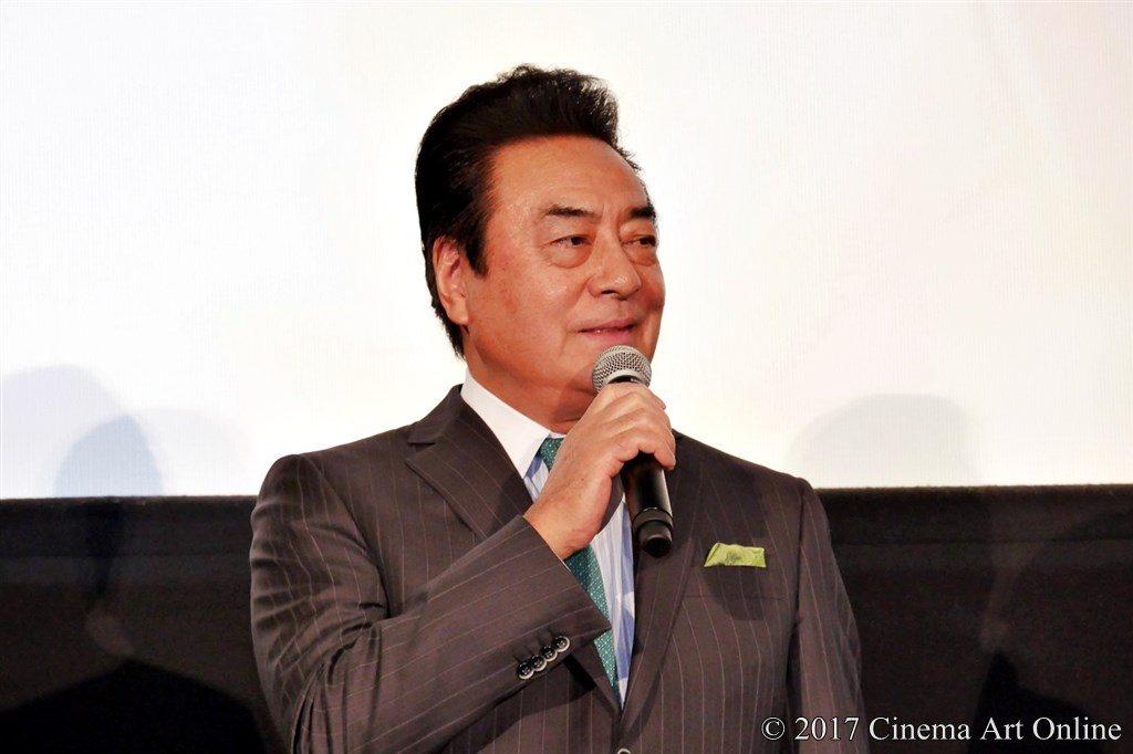 映画「ひるね姫 〜知らないワタシの物語〜」初日舞台挨拶イベント 高橋英樹