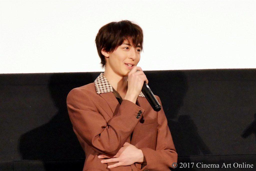 映画「PとJK」公開初日舞台挨拶 高杉真宙