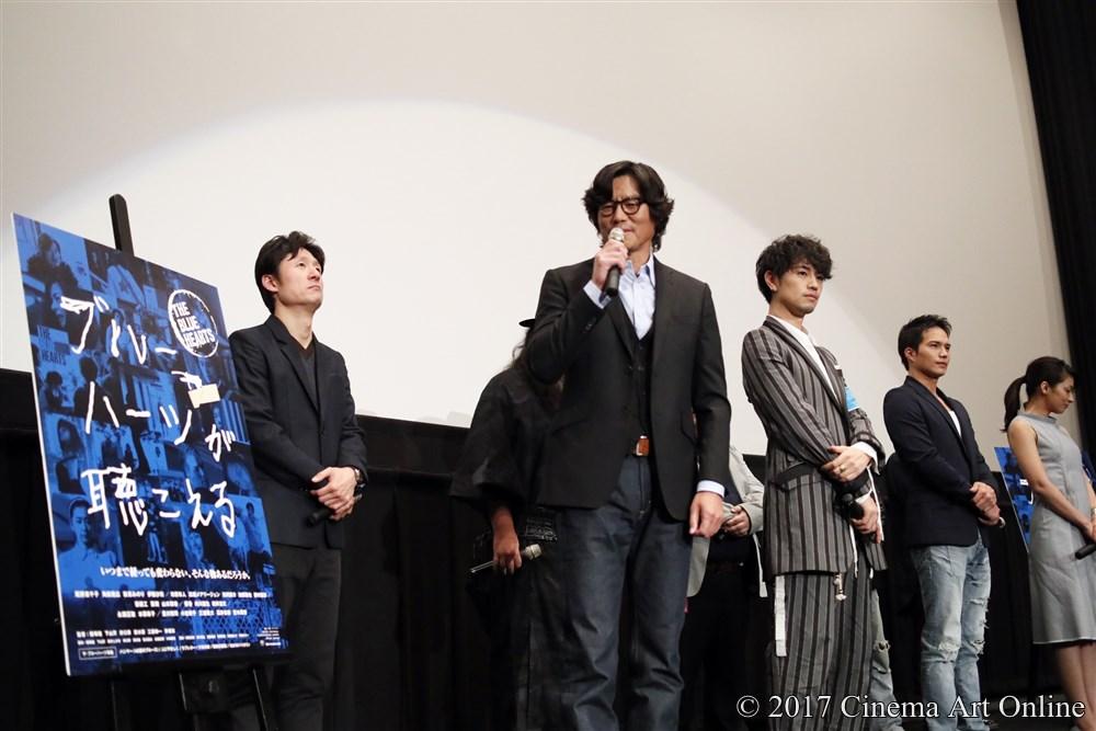 映画「ブルーハーツが聴こえる」公開直前プレミア上映会舞台挨拶 豊川悦司