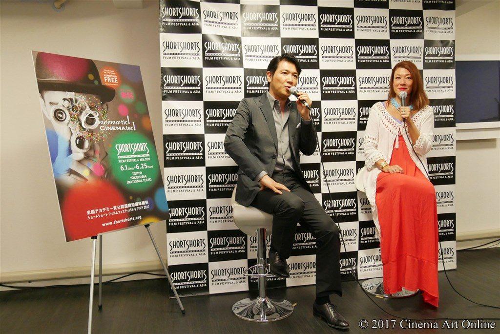 ショートショートフィルムフェステイバル&アジア2017 特別記者会見 別所哲也 & LiLiCo