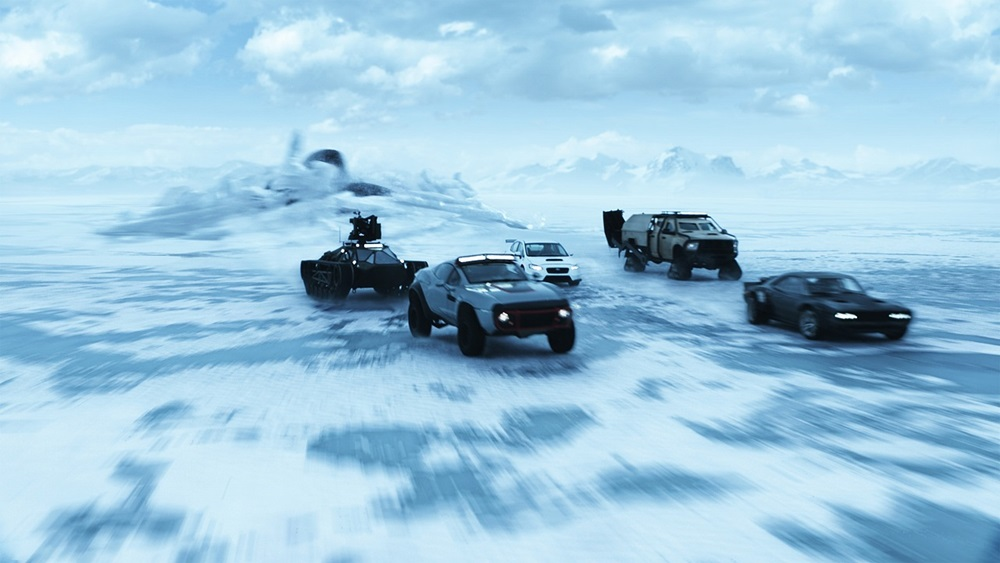 映画「ワイルド・スピード ICE BREAK」 (The Fate of the Furious)