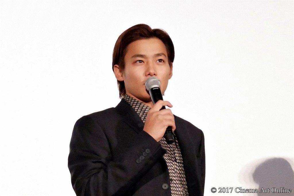 映画「サクラダリセット 後篇」公開初日舞台挨拶イベント 野村周平