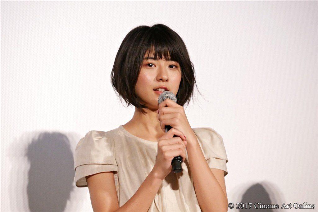 映画「サクラダリセット 後篇」公開初日舞台挨拶イベント 黒島結菜