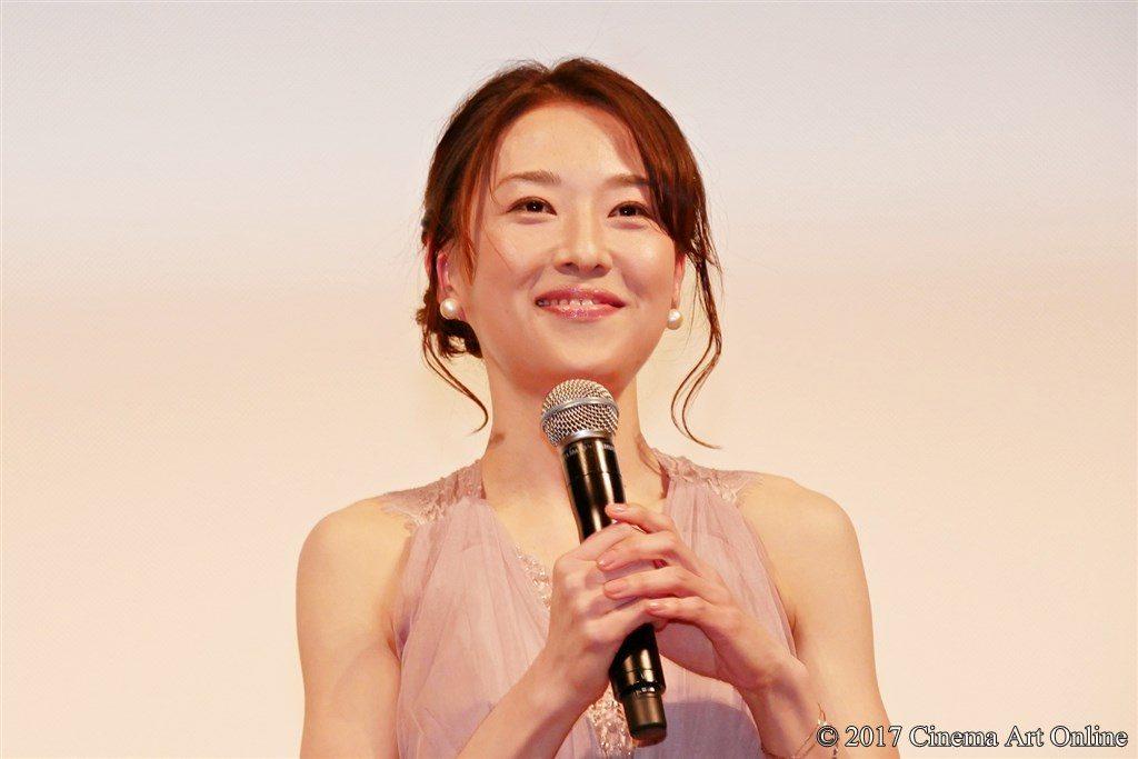 映画「心に吹く風」完成披露試写会披露イベント 真田麻垂美