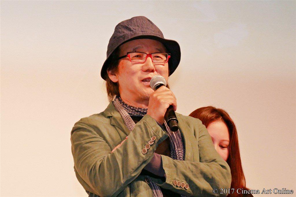 映画「心に吹く風」完成披露試写会披露イベント ユン・ソクホ監督