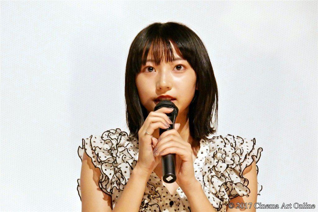 映画「ポエトリーエンジェル」公開初日舞台挨拶 武田玲奈