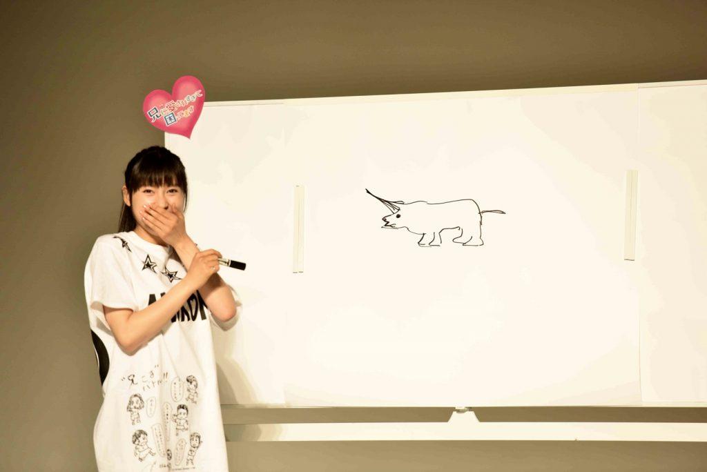 【写真】映画『兄に愛されすぎて困ってます』公開直前イベント お絵かき対決 土屋太鳳
