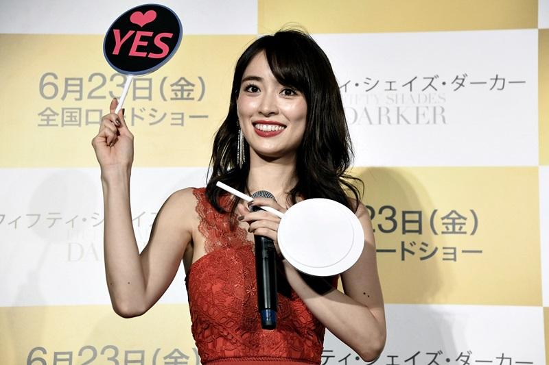 映画「フィフティ・シェイズ・ダーカー」公開直前イベント 泉里香