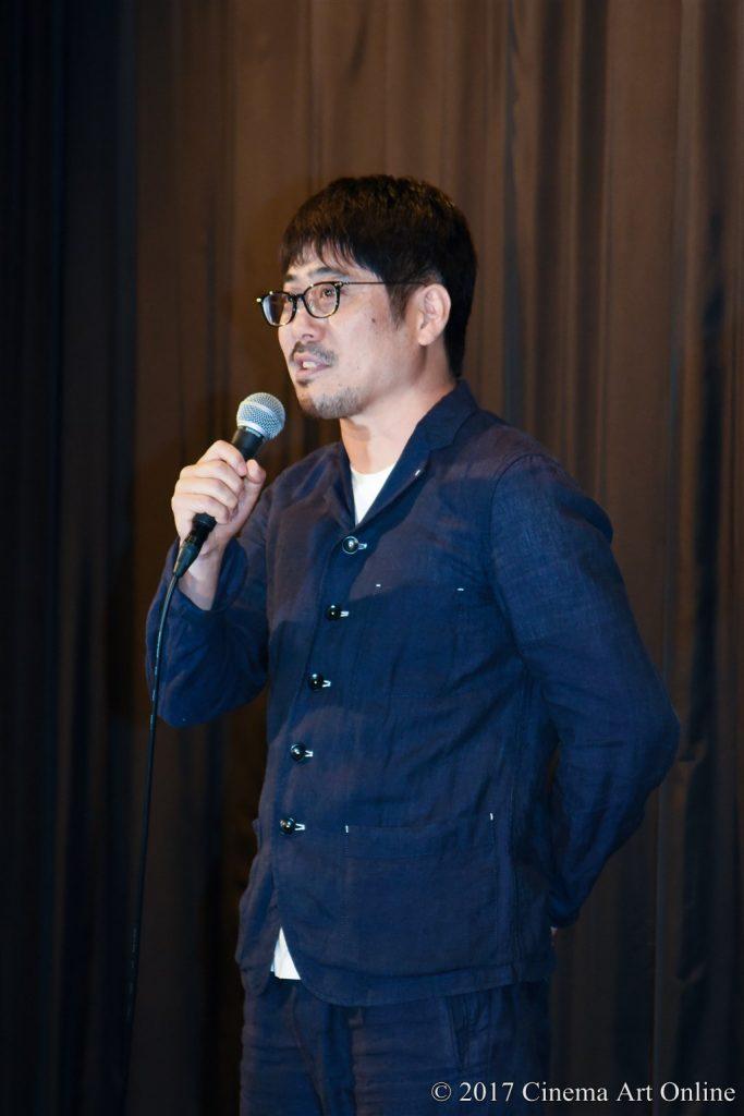 映画「武曲 MUKOKU」公開初日舞台挨拶 熊切和嘉監督