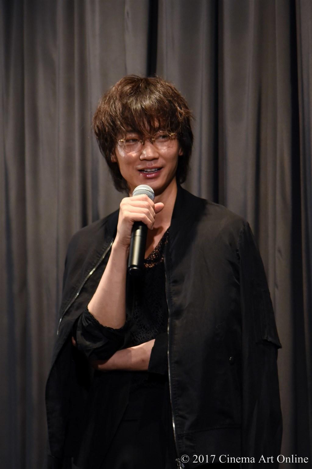 映画「武曲 MUKOKU」公開初日舞台挨拶 綾野剛