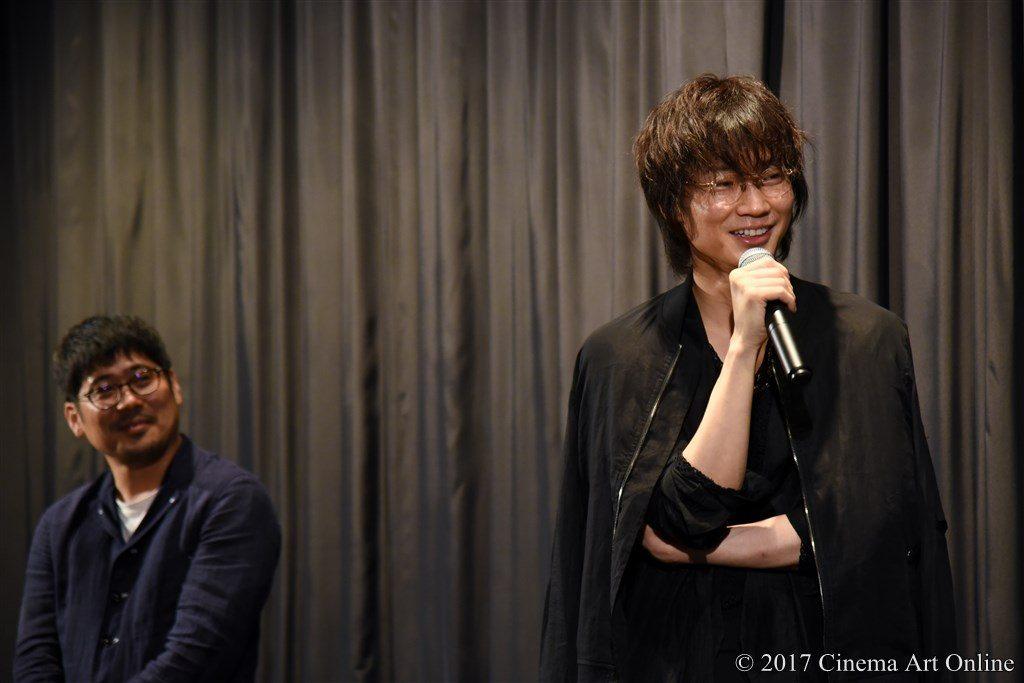 映画「武曲 MUKOKU」公開初日舞台挨拶 綾野剛、熊切和嘉監督