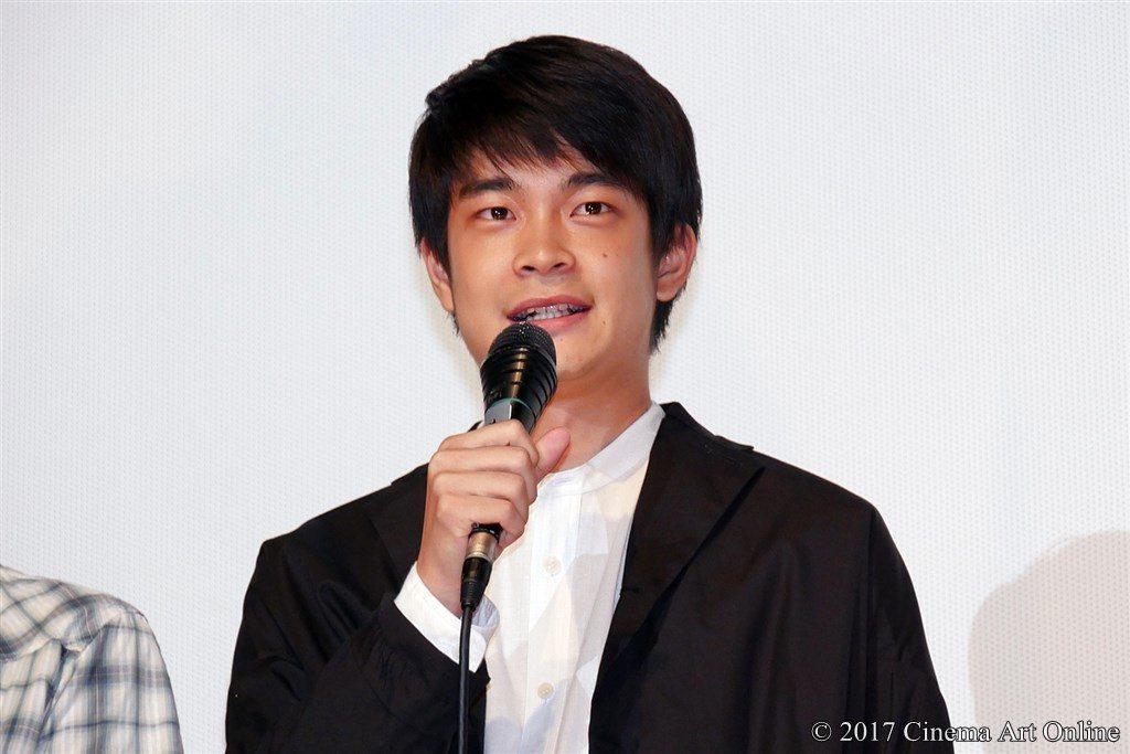 【写真】映画「海辺の生と死」完成披露上映会 井ノ脇海