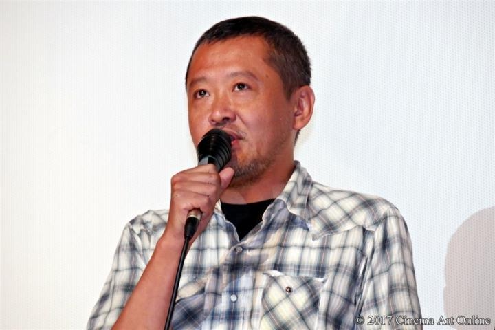 【写真】映画「海辺の生と死」完成披露上映会 川瀬陽太