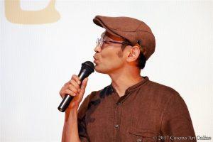 【写真】映画「海辺の生と死」完成披露上映会 越川道夫監督