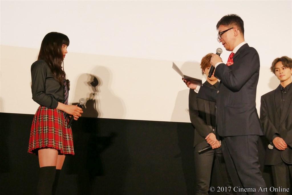 【写真】映画『兄に愛されすぎて困ってます』公開初日舞台挨拶 (土屋太鳳、河合勇人監督)