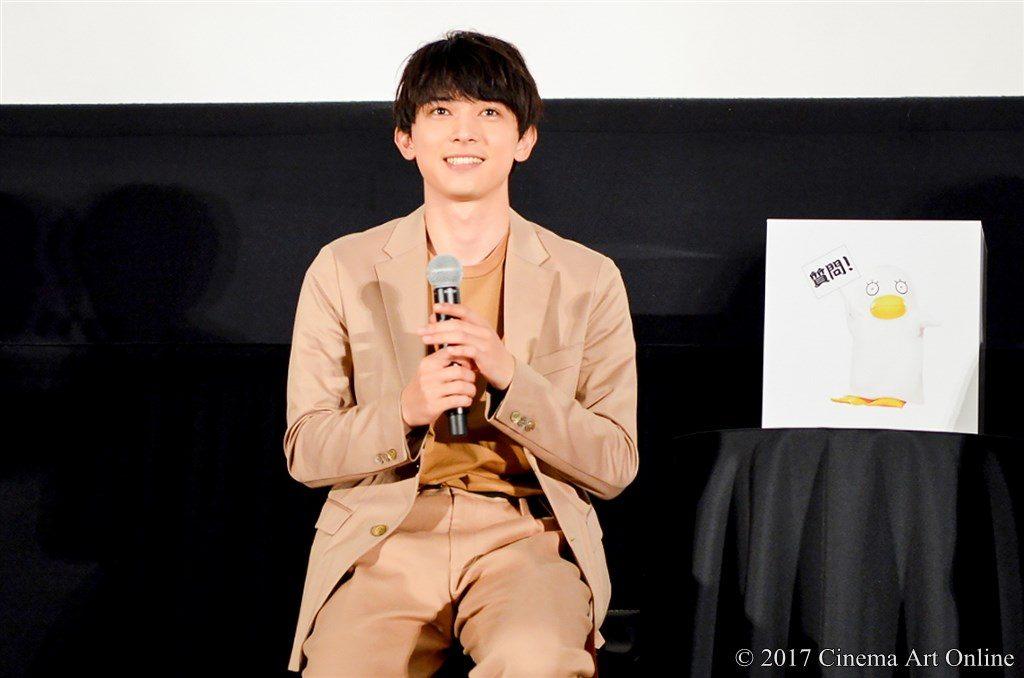 映画『銀魂』& dTV『銀魂 -ミツバ篇- 』 Wヒット記念!イッキ見上映会舞台挨拶 吉沢亮