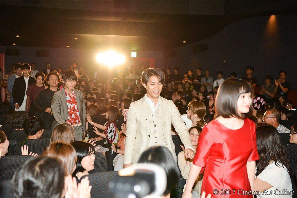 【写真】映画「銀魂」公開初日舞台挨拶 キャスト登場