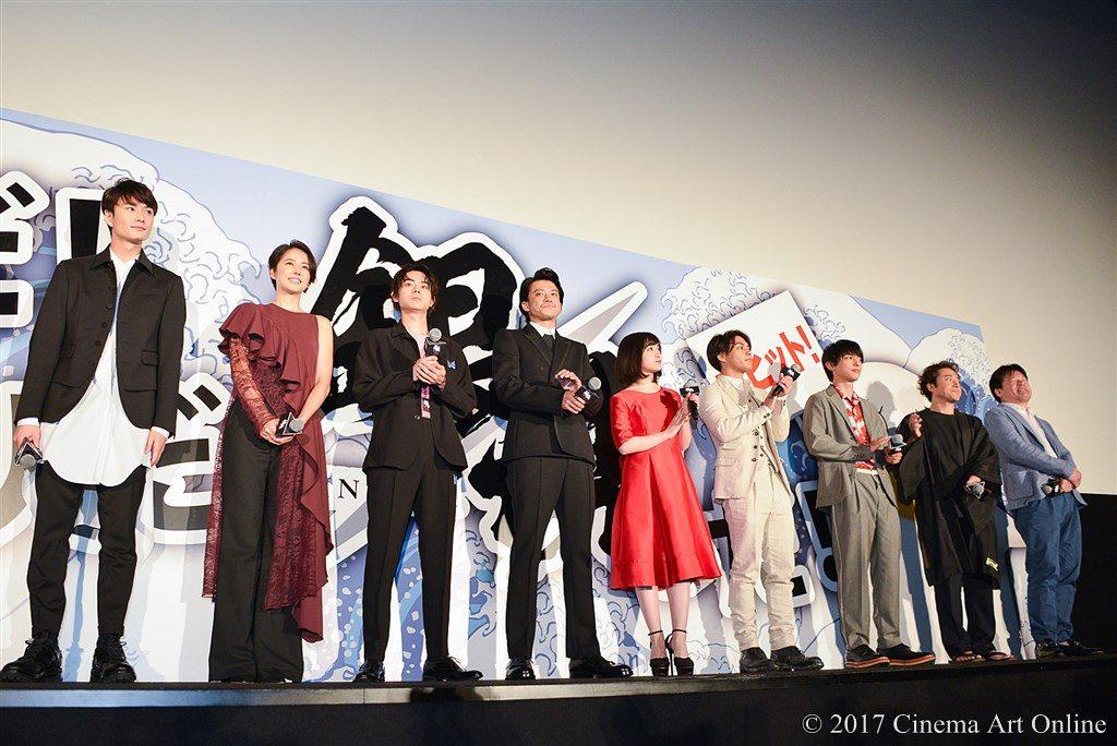 映画「銀魂」公開初日舞台挨拶