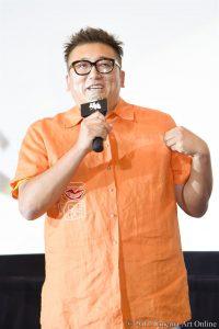 【写真】映画「銀魂」大ヒット御礼舞台挨拶 (福田雄一監督 シャツ)