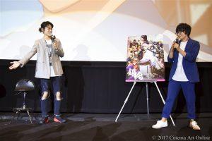 【写真】映画「銀魂」大ヒット御礼舞台挨拶 (菅田将暉 & 坂口大助)
