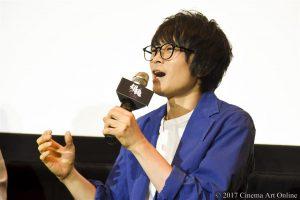 【写真】映画「銀魂」大ヒット御礼舞台挨拶 (坂口大助)