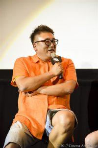 【写真】映画「銀魂」大ヒット御礼舞台挨拶 (福田雄一監督)