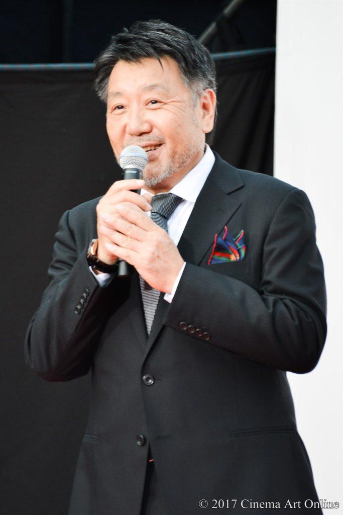 【写真】映画「関ヶ原」完成披露イベント 原田眞人監督挨拶