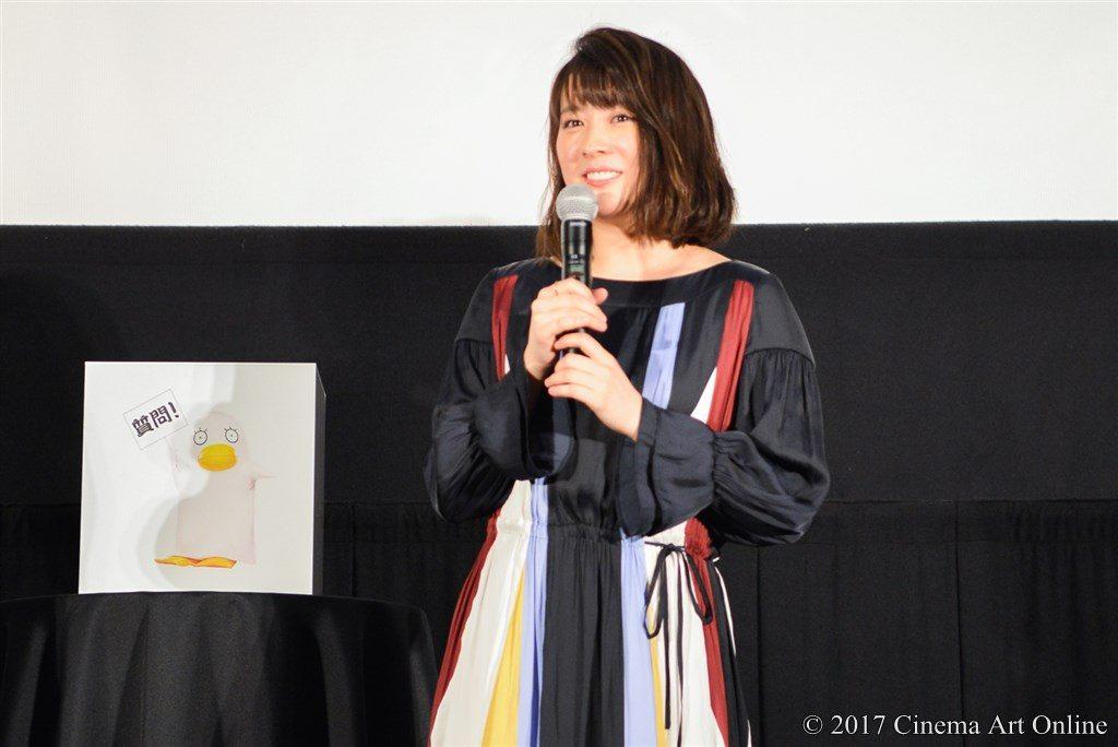 映画『銀魂』& dTV『銀魂 -ミツバ篇- 』 Wヒット記念!イッキ見上映会舞台挨拶 北乃きい