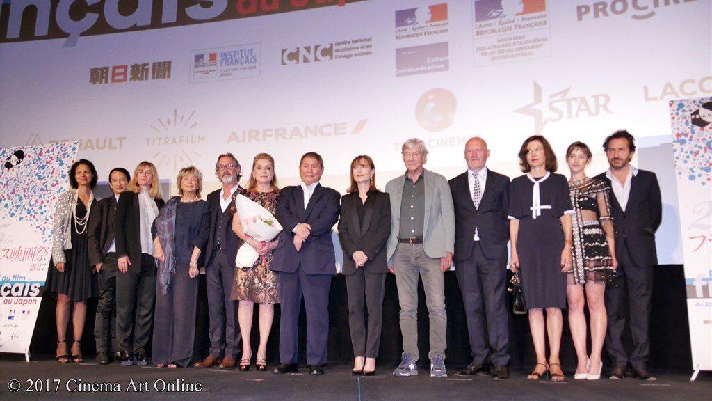フランス映画祭2017 オープニングセレモニー フォトセッション