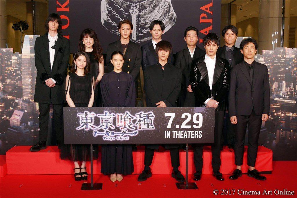 【写真画像】映画「東京喰種 トーキョーグール」ジャパンプレミア レッドカーペット フォトセッション