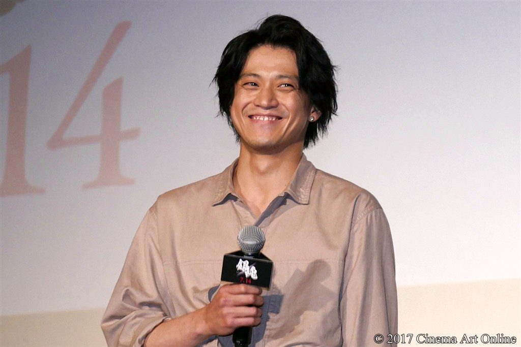 【写真】映画「銀魂」公開直前イベント 小栗旬 挨拶