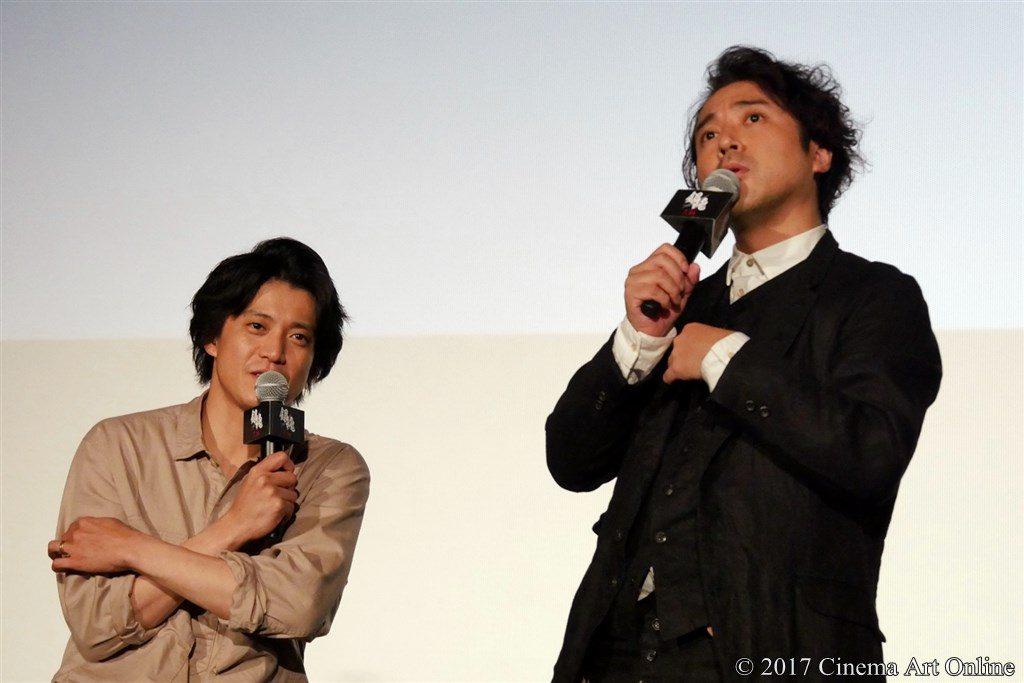 【写真】映画「銀魂」公開直前イベント ムロツヨシ & 小栗旬