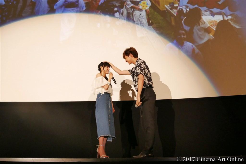 【写真】映画『兄に愛されすぎて困ってます』大ヒット記念舞台挨拶 (土屋太鳳&片寄涼太)