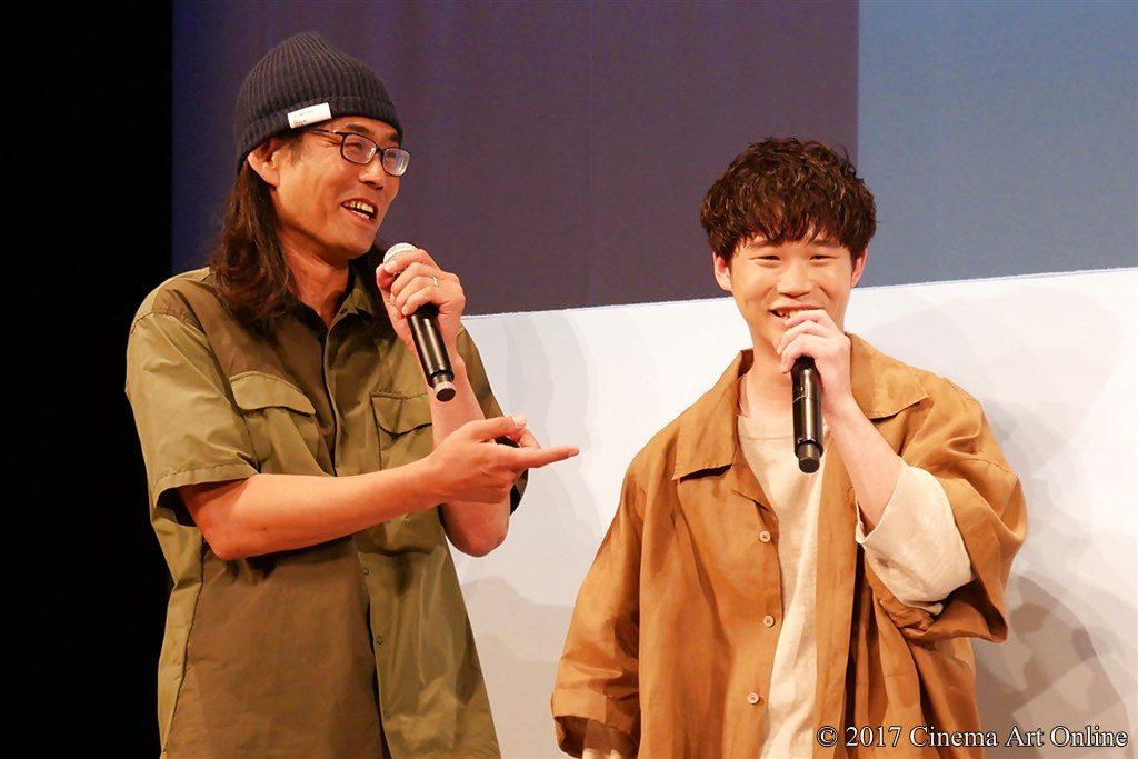【写真】映画「トリガール!」完成披露試写イベント  矢本悠馬&英勉監督