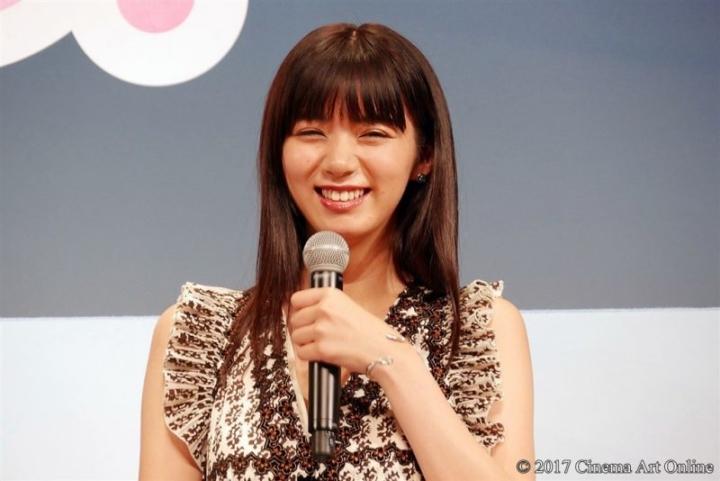 【写真】映画「トリガール!」完成披露試写イベント 池田エライザ