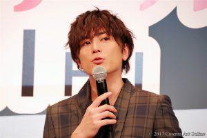 【写真】映画「トリガール!」完成披露試写イベント 間宮祥太朗